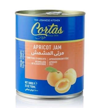 Cortas Apricot Jam In Can