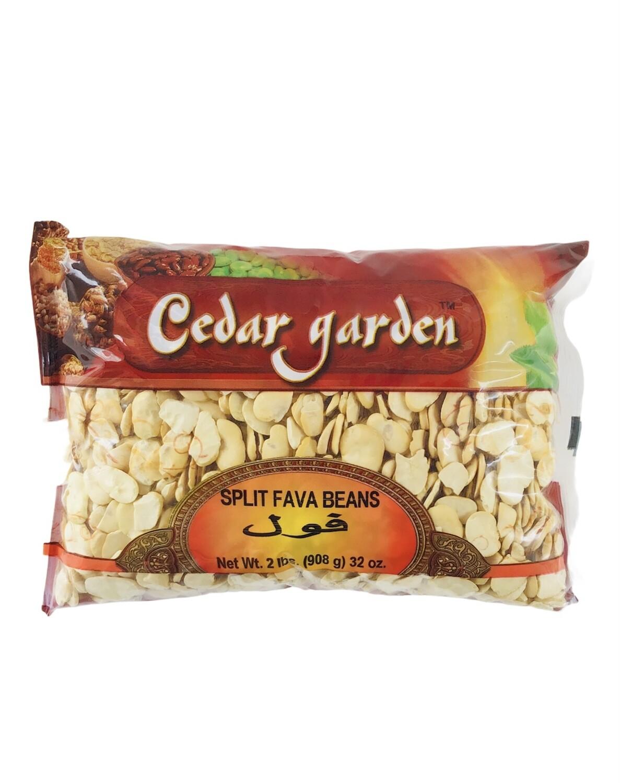 Cedar Garden Large Split Fava Beans 10x2lb