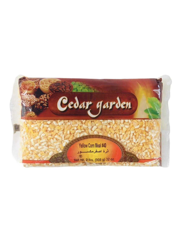 Cedar Garden Yellow Corn Meal #40