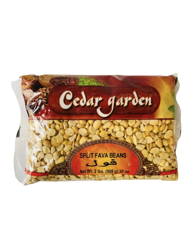 Cedar Garden Small Split Fava Beans 12x2lb