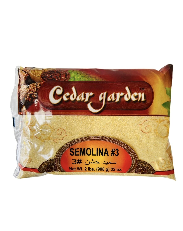 Cedar Garden Semolina #3 12x2lb