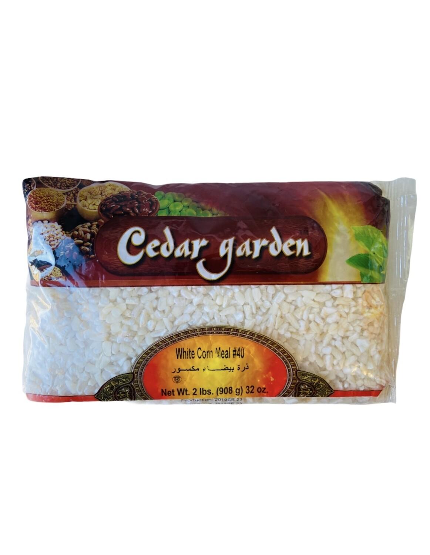 Cedar Garden White Corn Meal #40