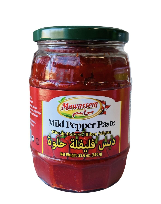 Mawassem Mild Pepper Paste 12x670g