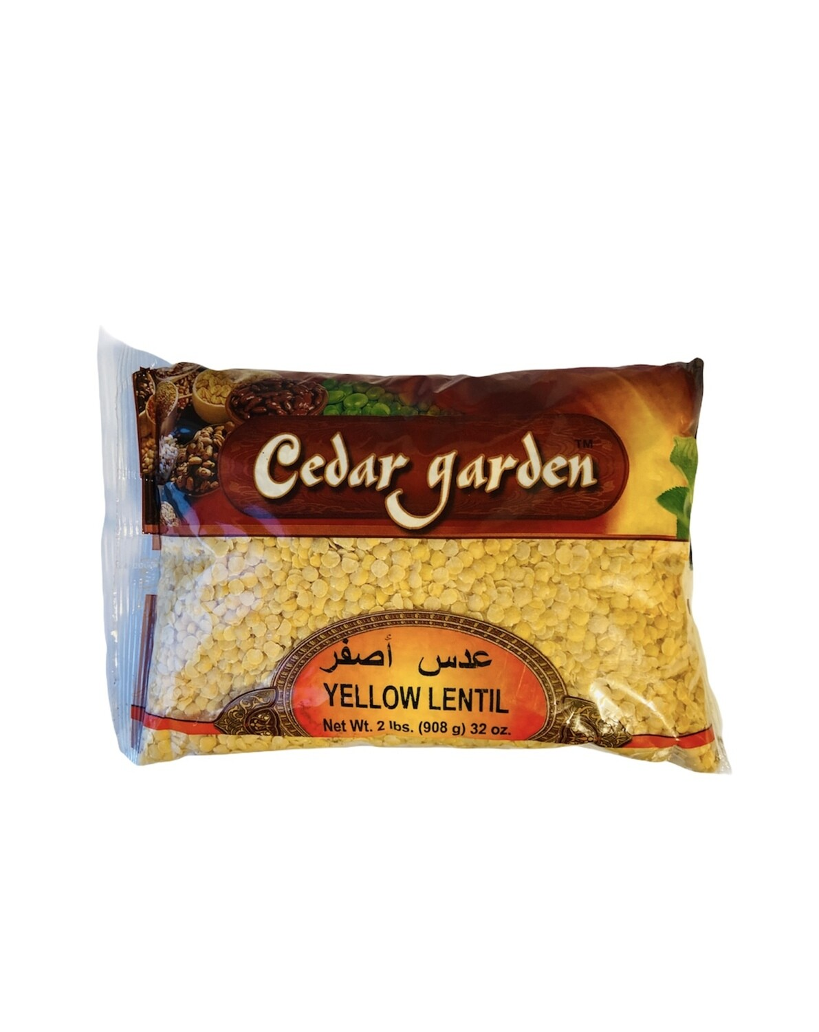 Cedar Garden Yellow Lentils 12x2lb