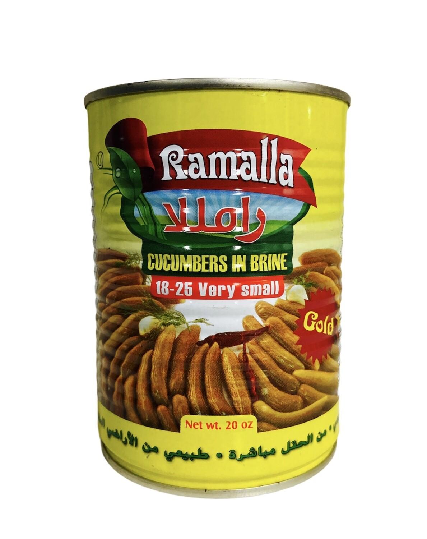 Ramalla Pickled Cucumbers Count 18/25 24x