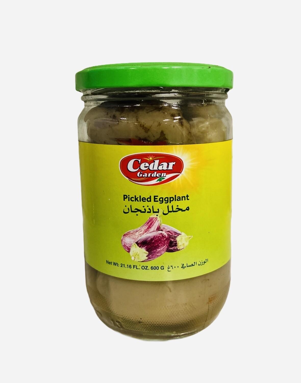 Cedar Garden Pickled Eggplant 12x600g