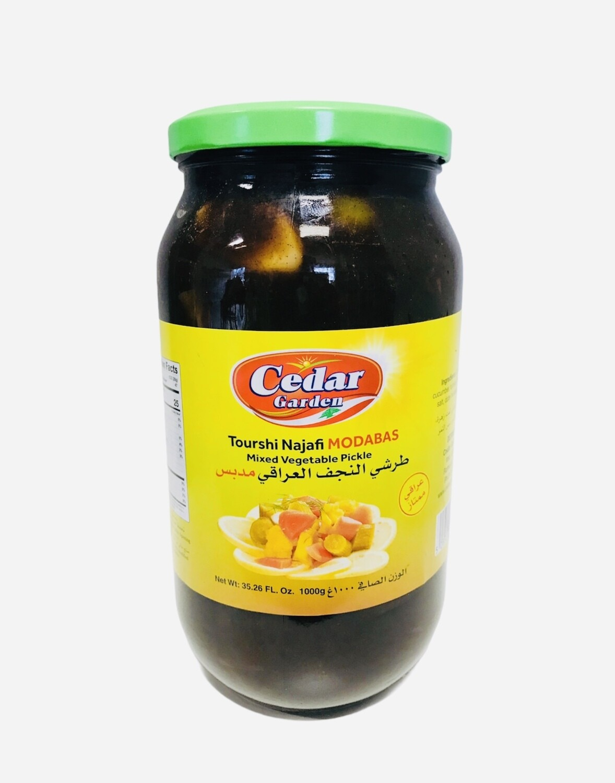 Cedar Garden Tourshi Najafi Modabas Pickled Mix Vegetables 12x1k