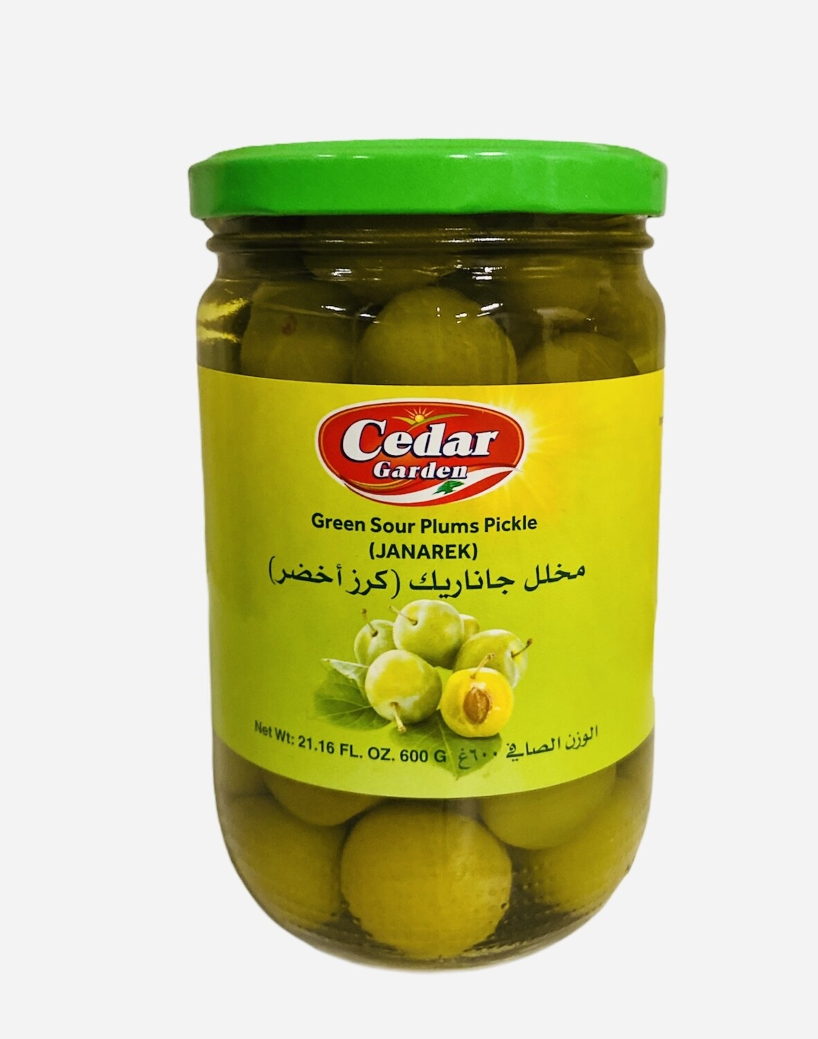 Cedar Garden Pickled Green Sour Plums 12x600g