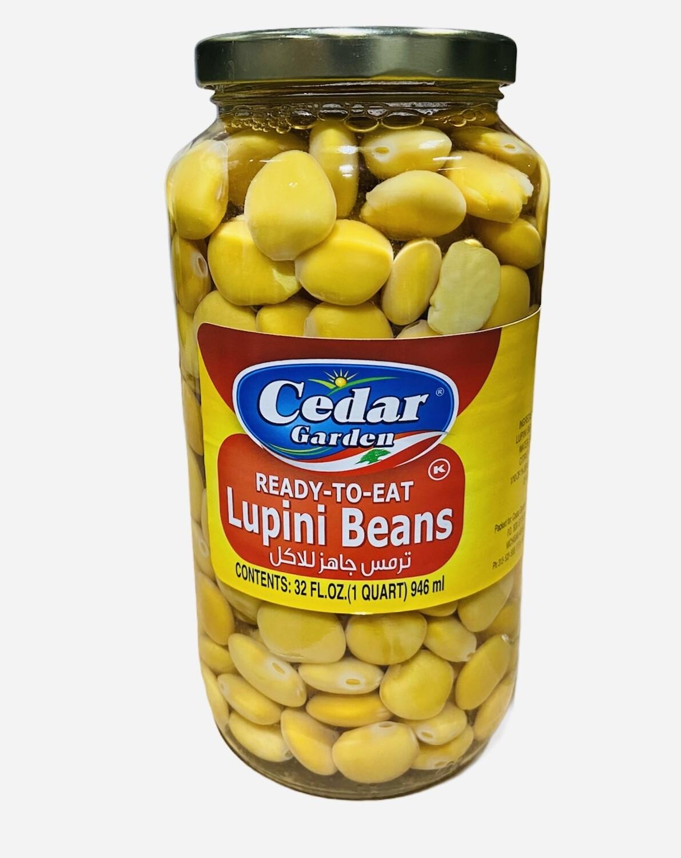 "Cedar Garden ""Ready To Eat"" Lupini Beans 12x1k"