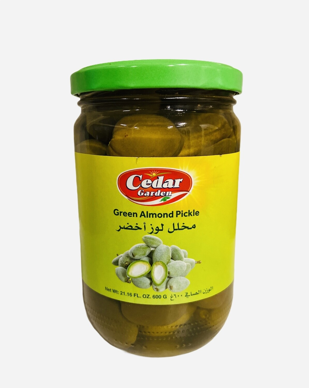 Cedar Garden Pickled Green Almond 12x600g