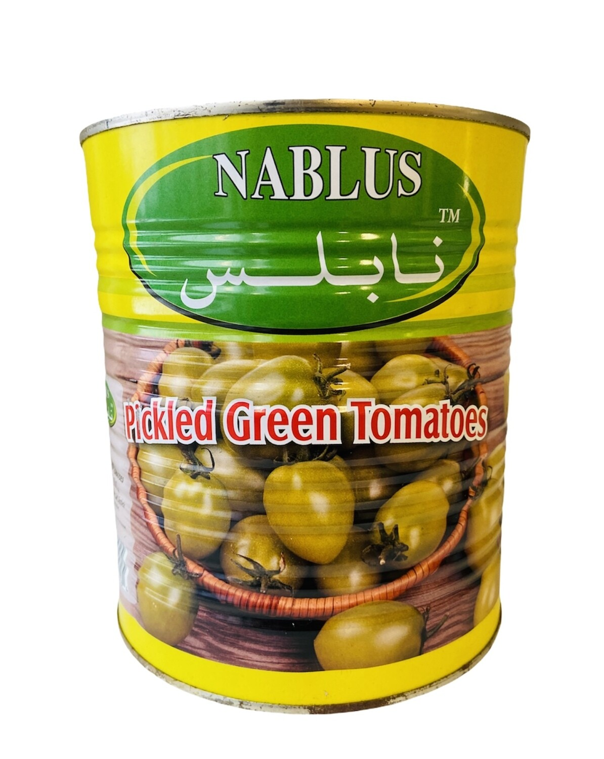 Nablus Pickled Green Tomatoes 6x6lb
