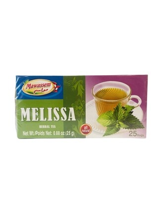 Mawassem Melissa Herbal Tea 24x50gx25b