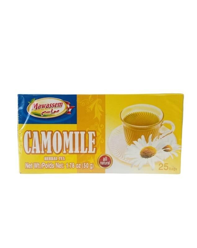 Mawassem Camomile Herbal Tea 24x50gx25b