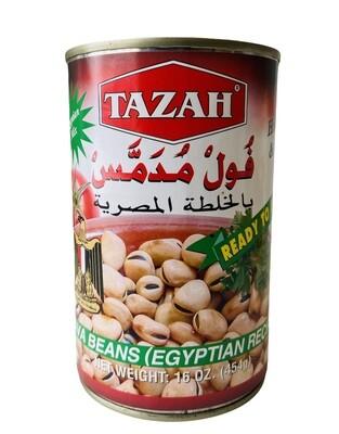 Tazah Fava Beans Egyption Recipe 24x16oz
