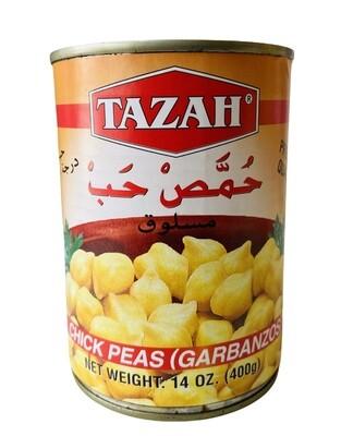 Tazah Chick Peas 24x16oz