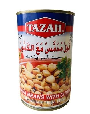 Tazah Fava Beans With Cumin 24x16oz