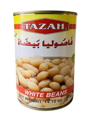 Tazah White Beans 24x16oz