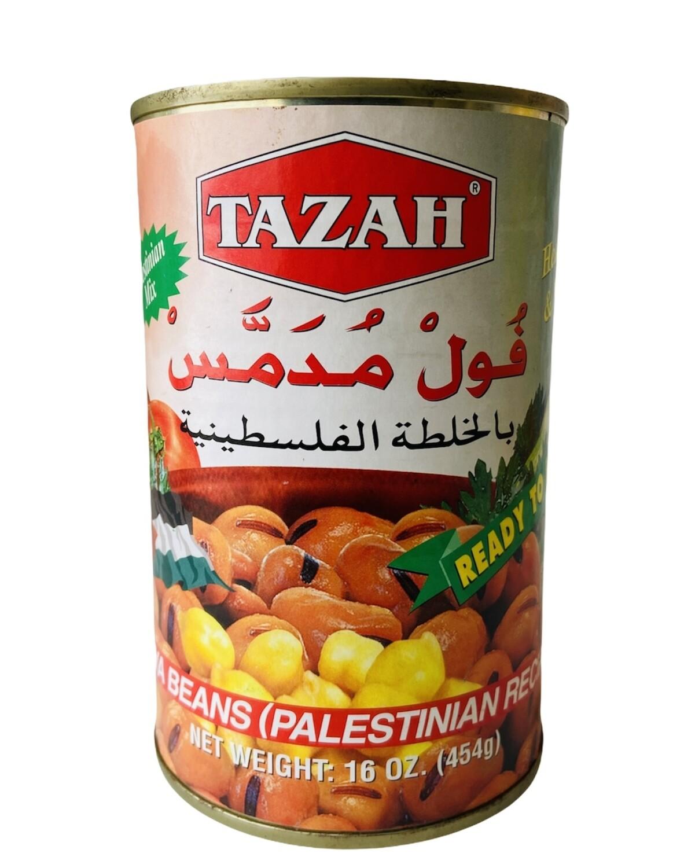 Tazah Fava Beans Palestinian Recipe 24x16oz