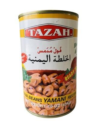 Tazah Fava Beans Yamani Recipe 24x16oz