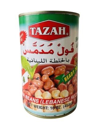 Tazah Fava Beans Lebanese Recipe 24x16oz