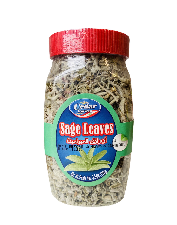 Cedar Garden Sage Leaves 12x100g
