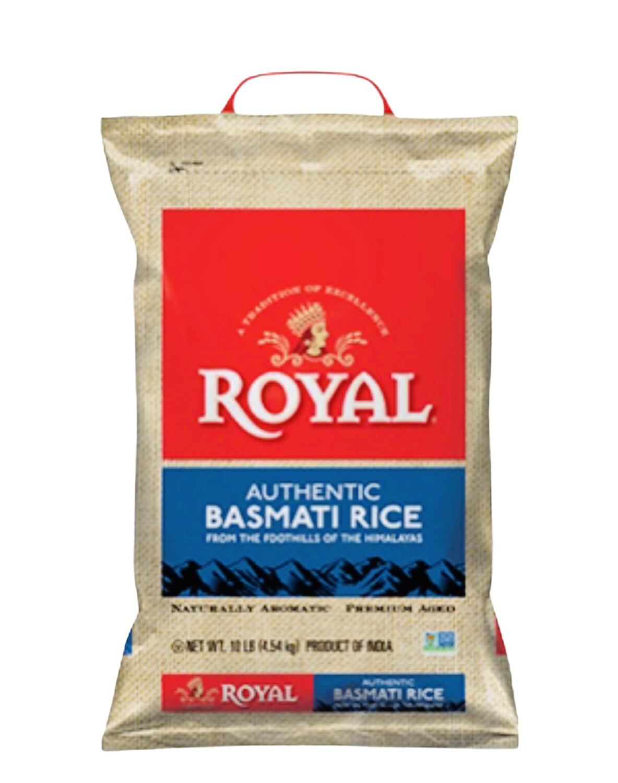 Royal Basmati Rice Net Wt. 10lb.