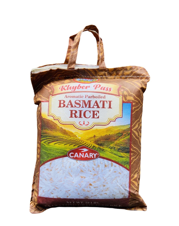 Khyber Pass Basmati Rice 4x10lb