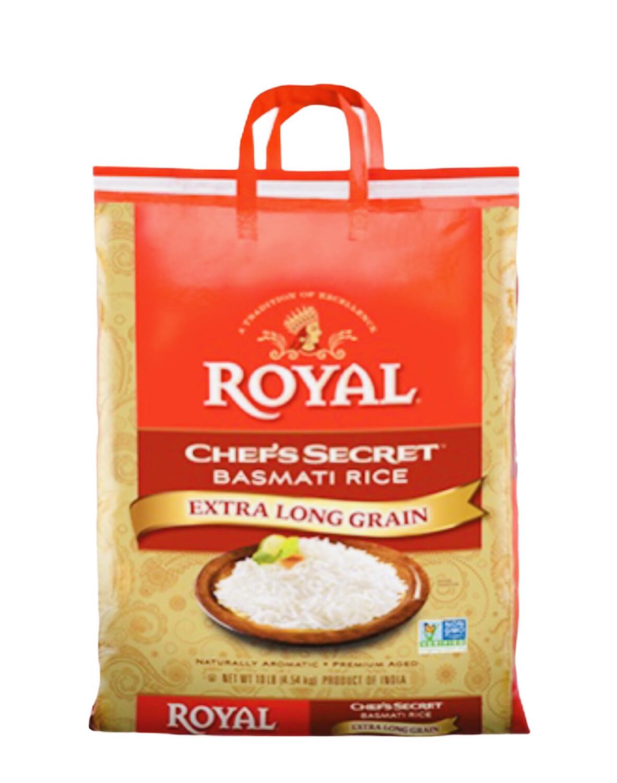 Royal Chef's Secret Basmati Rice Net Wt. 10lbs