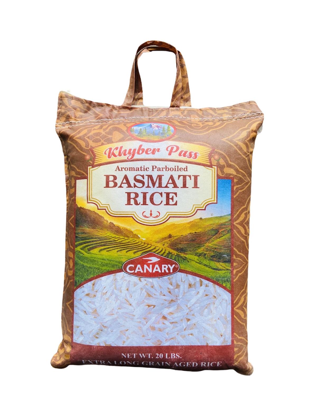 Khyber Pass Basmati Rice 2x20lb