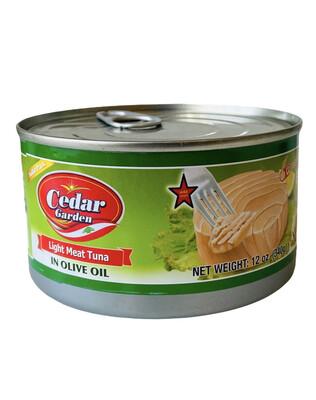 Cedar Garden Tuna With Olive Oil Family Size 24x12oz