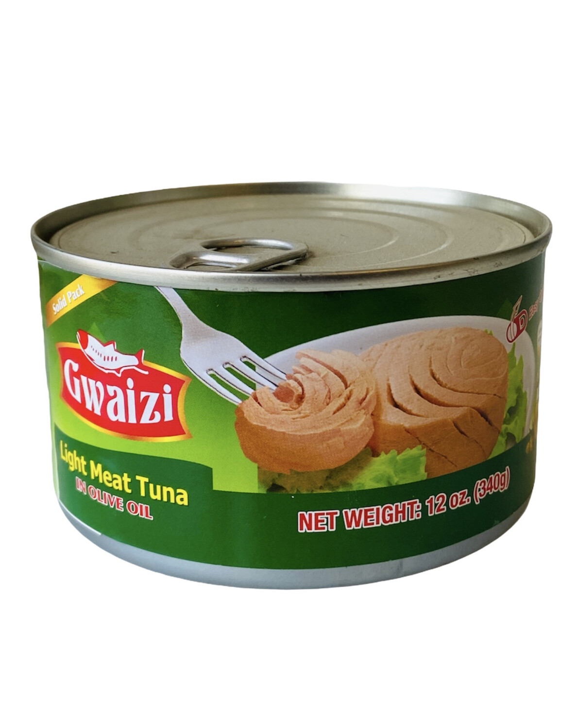 Gwaizi Tuna With Olive Oil Family Size 24x12oz