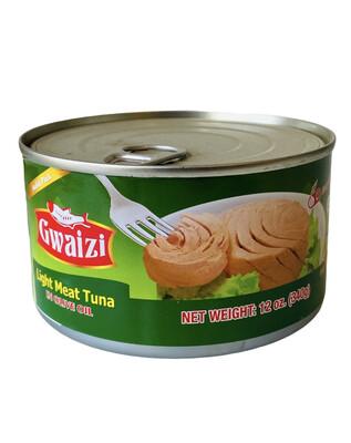 Gwaizi Tuna With Olive Oil Family Size 24x12oz