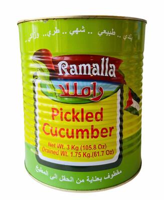 Ramalla Pickled Cucumbers 6x3KG