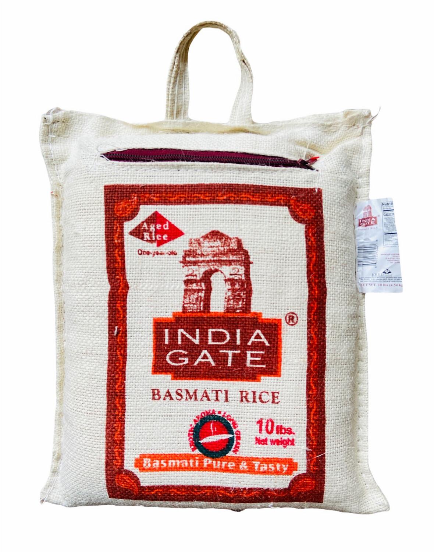 India Gate Basmati Rice 4x10lb