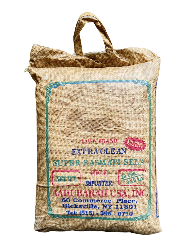 Aahu Barah Basmati Rice 2x40lb