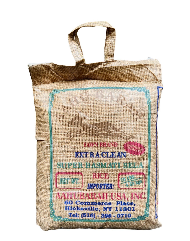 Aahu Barah Basmati Rice 4x10lb