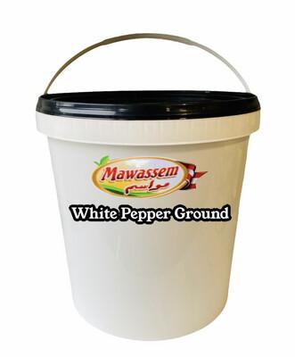 Mawassem 5lb White Pepper Ground