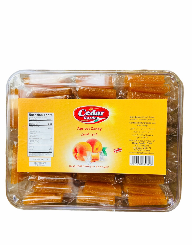 Cedar Garden Squared Apricot Candy