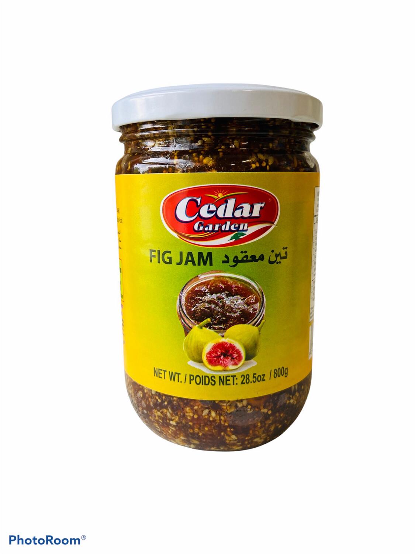 Cedar Garden Fig Jam 12x800g