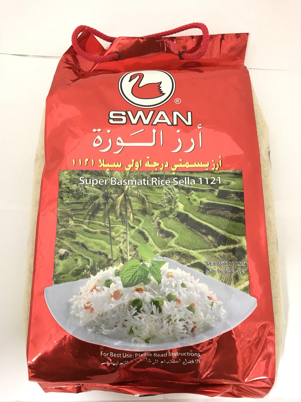 Alwazah swan basmati rice 4x10 Lb