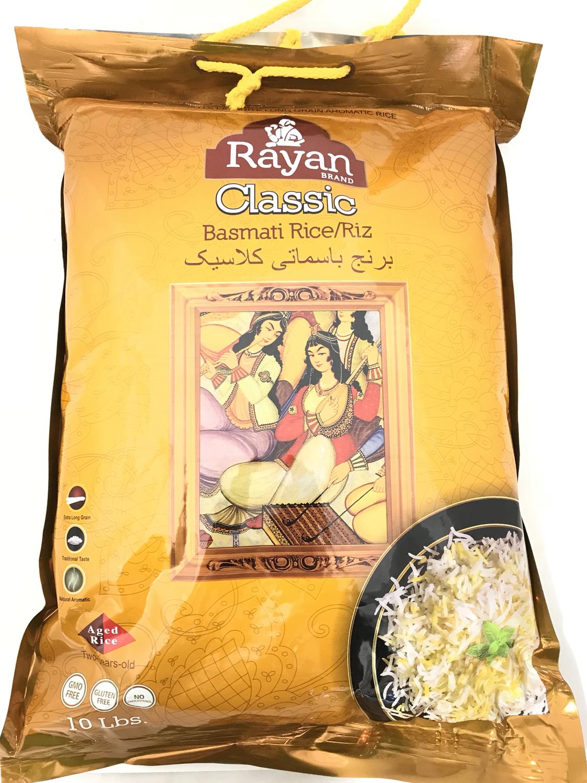 Rayan classic basmati rice 4x10lb