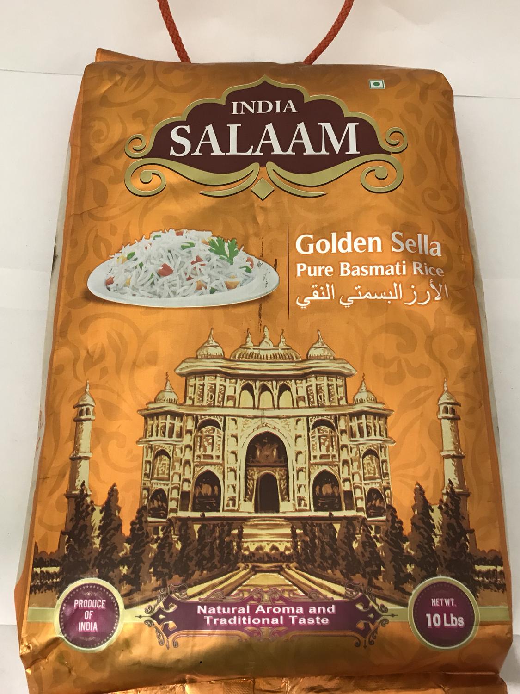India Salam sela basmati rice 4x10 Lb