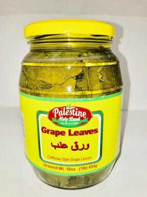 Palestine Holy Land grape leaves 454g