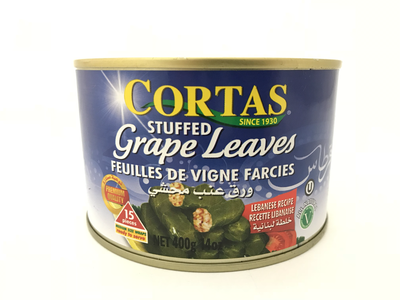 Cortes stuffed grape leaves 24x400g