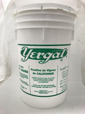Yergut grape leaves pail