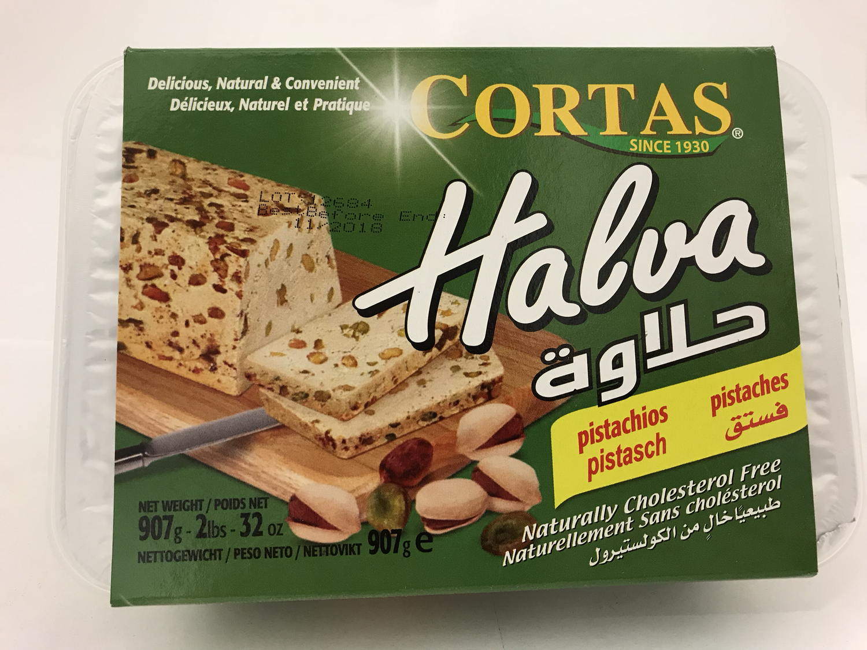 Cortas halawa pistachio 12x2lb