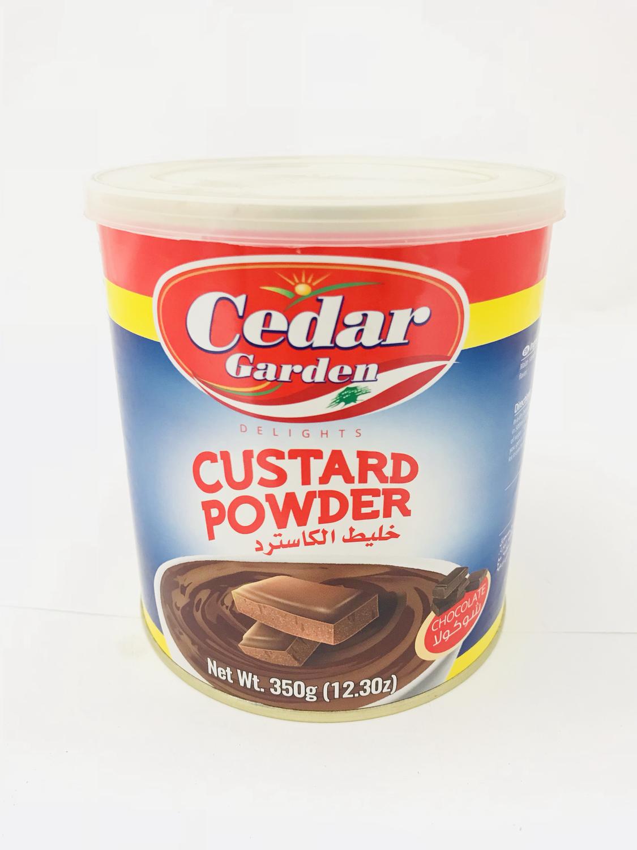 Cedar garden custard chocolate 12x400g