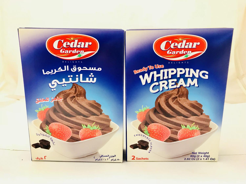 cedar garden Whipping cream chocolate 24x100g