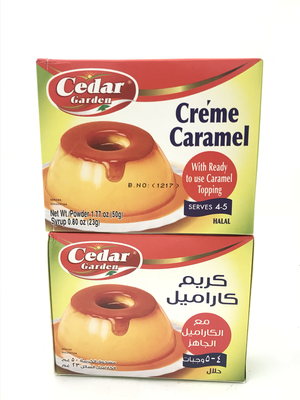 cedar Garden cream caramel 4x12x85g