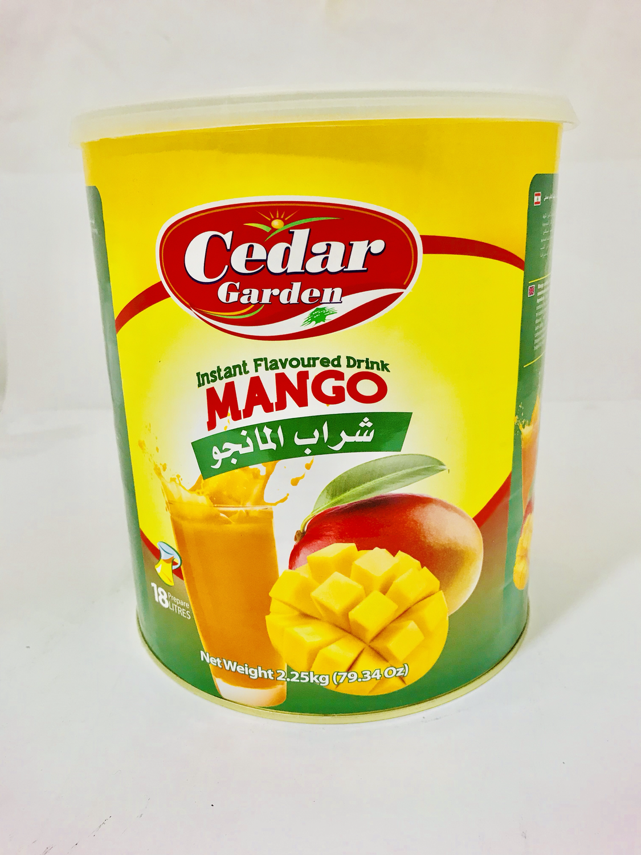 cedar Garden instant powder drink mango 6x2.5kg
